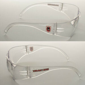 6 Pairs of New NRL Dragons Safety Glasses Clear Lens Merchandise AS/NZS1337.1
