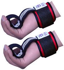 EVO Fitness Gym Straps Weightlifting GEL Wrist Support Cuff Wraps Bodybuilding