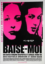 Baise-Moi 2000 Rape Me French Thriller Japanese Chirashi Mini Movie Poster B5
