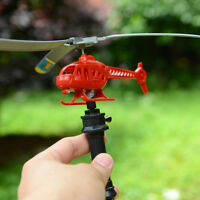 Handle Pull Plane Aviation OutdoorToy For KidsPlay Model Aircraft HelicoptersJ&C