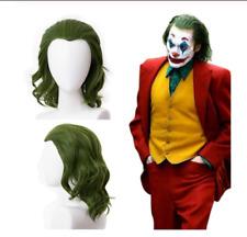2019 Joker Movie Joaquin Phoenix Arthur Fleck Joker Wig Cosplay Prop Green Hair