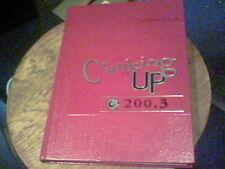 2003 Geneva High School, Geneva, Ohio  yb2