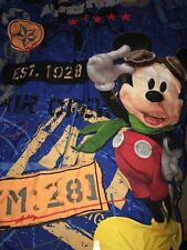 Disney Mickey Mouse Aviator Adventures Airplane Childs Blanket Toddler Bedding