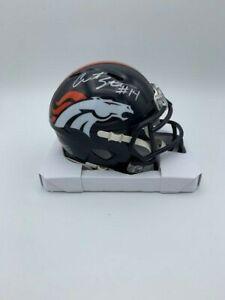 Courtland Sutton Signed Denver Broncos Speed Mini Helmet COA & Holograms