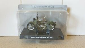 1967 MOTO GUZZI FALCONE 500 - 1/24 SCALE MODEL CARABINIERI  COLLECTION