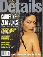 CATHERINE ZETA JONES Details Magazine 5/99 EMINEM TLC TOM GREEN