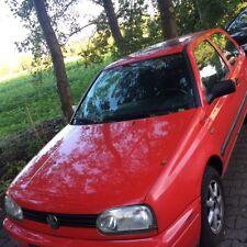Roter automatisch VW Golf 3 Bon Jovi 1,8 Motor mit elektronischem Schiebedach!