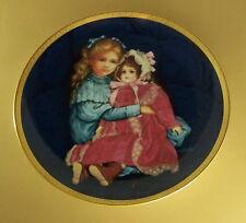 Timeless Friends Sara And Marie Plate #1 Victorian Children Girls & Dolls