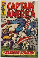 L0605: Captain America #102, Vol 1, VF Condition