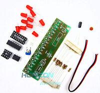 NE555+CD4017 Light Water Flowing Light LED Module DIY Kit top
