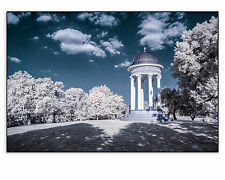 """Original Fine Art Photo 8x10"""" Print Color Infrared Mount Storm Park IR Blue Sky"""