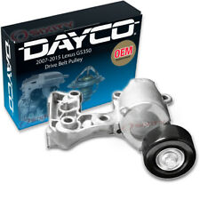 Dayco Drive Belt Pulley for 2007-2015 Lexus GS350 - Tensioner Alternator jh