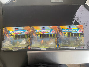 Micro Machines Galoob Aliens 1996 Complete Collection Sets 1, 2 & 3 - Very Rare