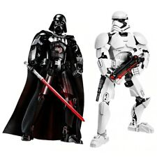 QUALITY Star Wars Characters Building Blocks Action Kids Toys Buildable Figures