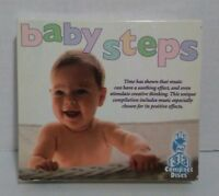 Baby Steps 3 CD Set Music Stimulation for Babies to Grow Crawl & Sleep to