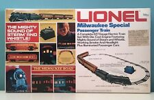 Lionel 6-1387 027 Gauge Electronic Milwaukee Special Passenger Train C-10 Grade