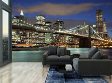 City Buildings Lights Colour Water  Wall Mural Photo Wallpaper GIANT WALL DECOR