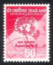 Thailandia 1962 giorno/ONU NAZIONI UNITE/simbolo/marchio/Mappe/PEOPLE 1v (n43577)