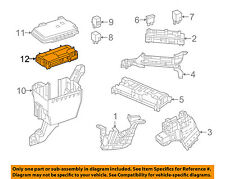 MERCEDES OEM 16-18 GLE350 3.5L-V6 Fuse Relay-Relay Plate 1669068201