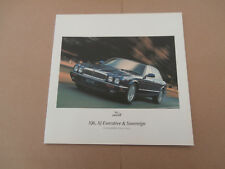 JAGUAR XJ6-XJ EXECUTIVE-SOVEREIGN LF  Brochure May 1997 #JLD/10/01/25/97. MINT