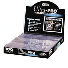 10x Ultra Pro - 9 pocket pages Platinum (63mm x 88mm) - NEW!!