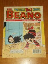 BEANO #2895 10TH JANUARY 1998 BRITISH WEEKLY