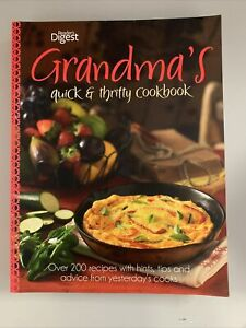 Readers Digest Grandma's Quick & Thrifty Cookbook