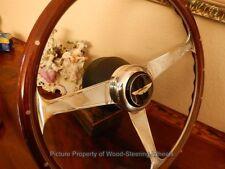 "Aston Martin DB 7 Wood Steering Wheel NARDI 15"" Original Hub/Boss NEW NOS"