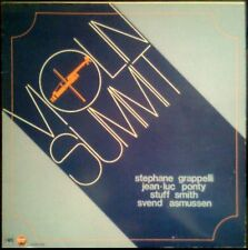 VIOLIN SUMMIT - SPAIN LP CFE / Stop Jazz / MPS 1982 - Stuff Smith Svend Asmussen