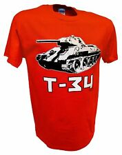 T34 Russian Tank Panzer World of Tanks Red Army Ww2 1/35 Scale Rc Model T Shirt