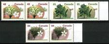 CANADA - 1991 - Alberi da frutto in coppia