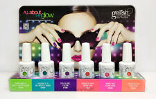 Harmony Gelish Soak-Off Nail Polish-ALL ABOUT THE GLOW -All 6 Shades 01554-01559