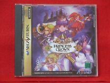 USED Princess Crown [Japan Import] Sega Saturn Free Shipping!