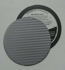 magnetic tax disc holder carbon fibre fit S rover mg mgr saab skoda smart subaru