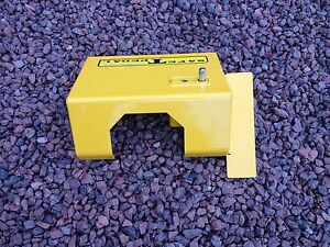 VW SPLIT SCREEN SAFE T PEDAL VW SECURITY IN YELLOW  RIGHT HAND DRIVE