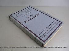 Fumet Notre Baudelaire portrait Nadar  poésie Roseau d'or numéroté beau papier