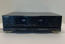 VINTAGE FISHER STUDIO STANDARD DUAL CASSETTE TAPE DECK CR-W683 TESTED