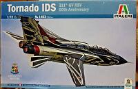 Panavia Tornado IDS 311° GV RSV 60th Anniversary - Italeri Kit 1:72 - 1403 Nuovo