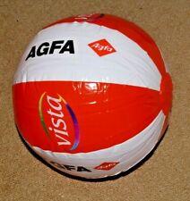 Agfa Werbung / Orange  / Wasserball  Ball Neu OVP  Durchmesser ca. 26 cm