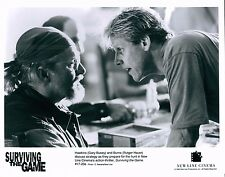 1994 Surviving The Game Unsigned Glossy 8x10 B&W Movie Promo Photo Rutger Hauer