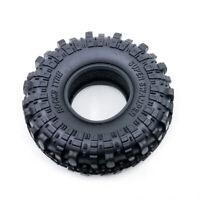"""4PCS 1.9"""" Super Swamper Tyre Tire w/ Foam for RC 1/10 Axial SCX10/ II CC01 D90"""