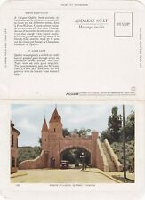 Carte Postale Porte St Louis VILLE DE QUEBEC Qc Canada Folkard Foldout Postcard