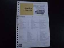 Original Service Manual Philips 22RH943