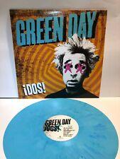 GREEN DAY Dos! 2012 LP AQUA BLUE COLOR VINYL limited edition album punk garage
