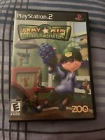 Army Men Soldiers of Misfortune Playstation 2 PS2 Video Game Complete