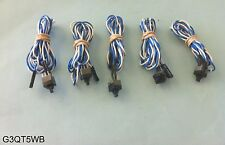 Lot 5: Front Panel On/Off Power Control Button Cable for Computer Motherboard PC