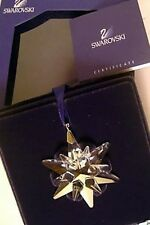2005 Swarovski~Little STAR Snowflake Mini Christmas ORNAMENT ~ w/ box & coa