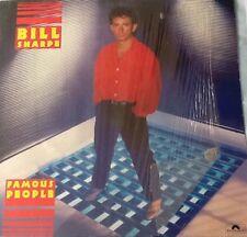 LP Bill Sharpe - Famous People (1985) Vinyl Guter Zustand