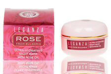 Ultra-Hydrating Night Face Mask Made with Fresh Rose Petal Extract 45 ml 1.5 oz