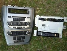 2010 FORD FUSION RADIO CNTL PANEL W/ CLIMATE CONTROLE. INFO DISPLAY SCREEN OEM